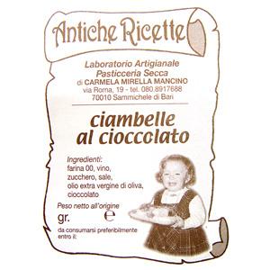 Paste Tonde al Cioccolato