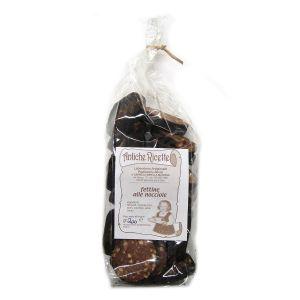 Fettina alle Nocciole ricoperta di cioccolato fondente